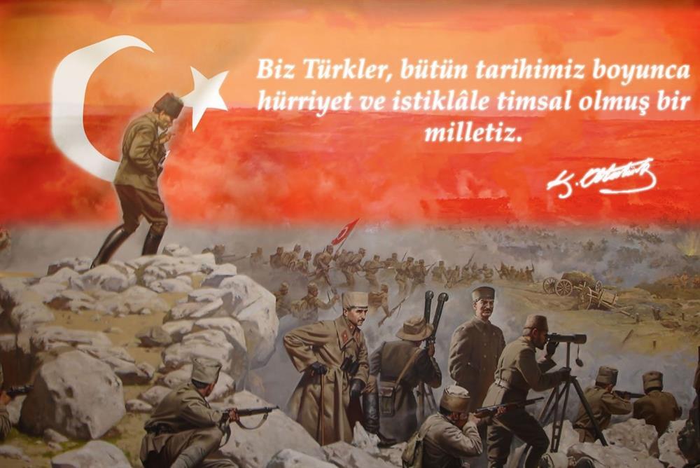 biz türkler bütün tarihimiz  - Zafer Bayramı Sözleri - Resimli 30 Ağustos Zafer Bayramı Mesajları, ozel-gunler-sozleri