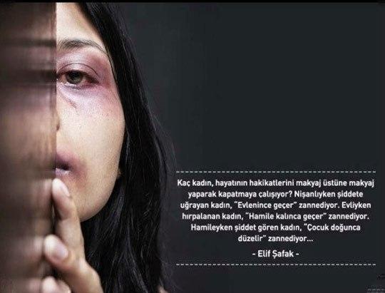 kaç kadın hayatının  - Kadına Şiddete Sözler - Kadına Şiddetle İlgili Resimli Sözler, resimli-sozler