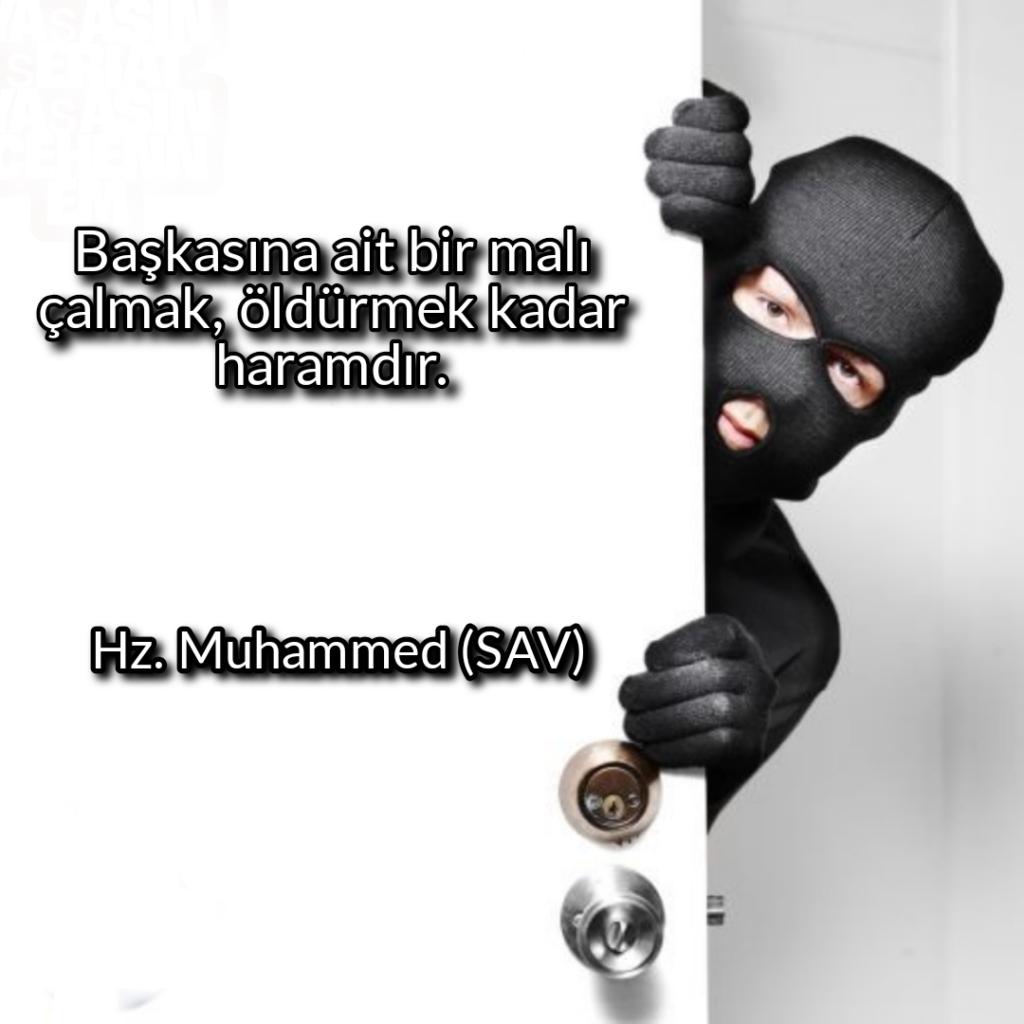 Başkasına ait bir malı çalmaköldürmek kadar haramdır 1024x1024 - Resimli Hz Muhammed (SAV) Sözleri - İslam Peygamberi Hz Muhammed Sözleri,Hz Muhammed Hadisleri, mesajlar, dini-sozler