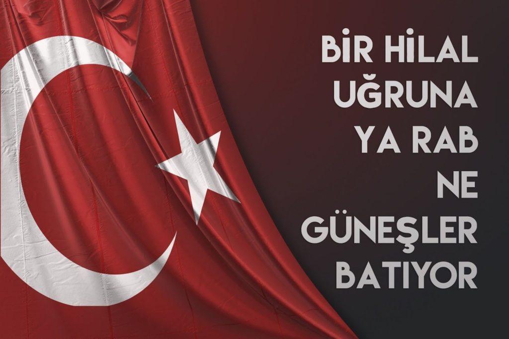 Bir hilal uğruna ya Rab ne güneşler batıyor 1024x682 - Türk Ve Türkiye İle İlgili Resimli Sözler - Türk Ve Türkiye ile ilgili sözler, guzel-sozler