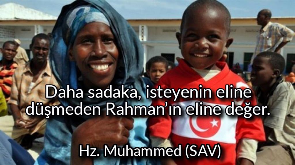 Daha sadaka isteyenin eline düşmeden Rahmanın eline değer 1024x574 - Resimli Hz Muhammed (SAV) Sözleri - İslam Peygamberi Hz Muhammed Sözleri,Hz Muhammed Hadisleri, mesajlar, dini-sozler