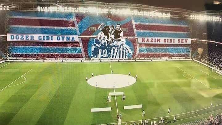 Dozer gibi oyna Kazım gibi sev Kareografisi - Trabzonspor İle İlgili Resimli Sözler - Trabzonspor Sözleri Ve Kareografileri, resimli-sozler