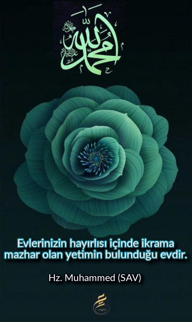 Evlerinizin hayırlısı içinde ikrama mazhar olan yetimin bulunduğu evdir 611x1024 - Resimli Hz Muhammed (SAV) Sözleri - İslam Peygamberi Hz Muhammed Sözleri,Hz Muhammed Hadisleri, mesajlar, dini-sozler