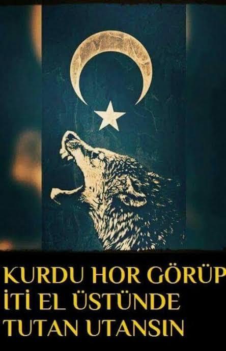 Kurdu hor görüp iti el üstünde tutan utansın - Ülkücü İle İlgili Resimli Sözler - Ülkücü Sözleri, Milliyetçilik, Türk Sözleri, resimli-sozler, populer-sozler, mesajlar, anlamli-sozler
