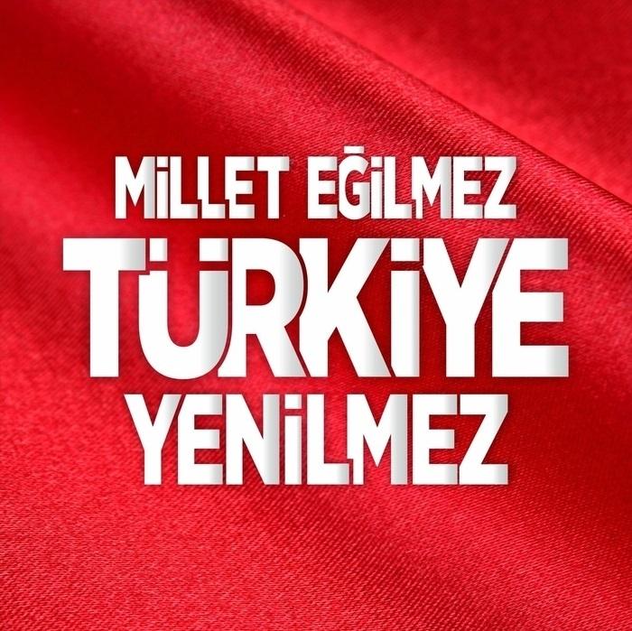 Millet eğilmez Türkiye yenilmez - Türk Ve Türkiye İle İlgili Resimli Sözler - Türk Ve Türkiye ile ilgili sözler, guzel-sozler