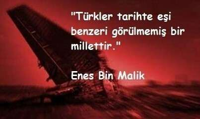 Türkler tarihte eşi benzeri görülmemiş bir millettir - Türk Ve Türkiye İle İlgili Resimli Sözler - Türk Ve Türkiye ile ilgili sözler, guzel-sozler