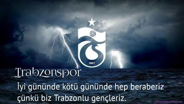 Trabzonspor İyi gününde kötü gününde hep beraberiz çünkü biz Trabzonlu Gençleriz - Trabzonspor İle İlgili Resimli Sözler - Trabzonspor Sözleri Ve Kareografileri, resimli-sozler