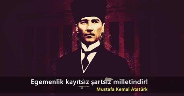 Egemenlik kayıtsız şartsız milletindir. Mustafa Kemal Atatürk - Mustafa Kemal Atatürk Resimli Sözler - Atatürk Sözleri Ve Fotoğraf Arşivi, unlu-sozleri, guzel-sozler