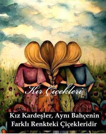 Kız kardeşler - Kardeş İle İlgili Resimli Sözler - Kardeşe Sözler Ve Mesajlar, resimli-sozler, guzel-sozler