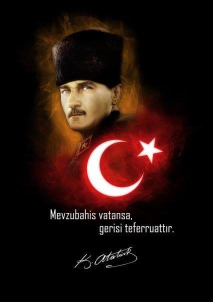 Mevzubahis vatansa gerisi teferruattır. Mustafa Kemal Atatürk - Mustafa Kemal Atatürk Resimli Sözler - Atatürk Sözleri Ve Fotoğraf Arşivi, unlu-sozleri, guzel-sozler