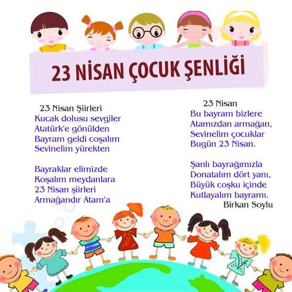 23 Nisan Şiirleri 23 Nisan Çocuk Bayramı Resimli Şiirler 1 - 23 Nisan Ulusal Egemenlik Ve Çocuk Bayramı İle İlgili Resimli Şiirler, resimli-sozler, ozel-gunler-sozleri, guzel-sozler