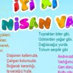 23 Nisan Şiirleri, 23 Nisan Çocuk Bayramı Resimli Şiirler  4