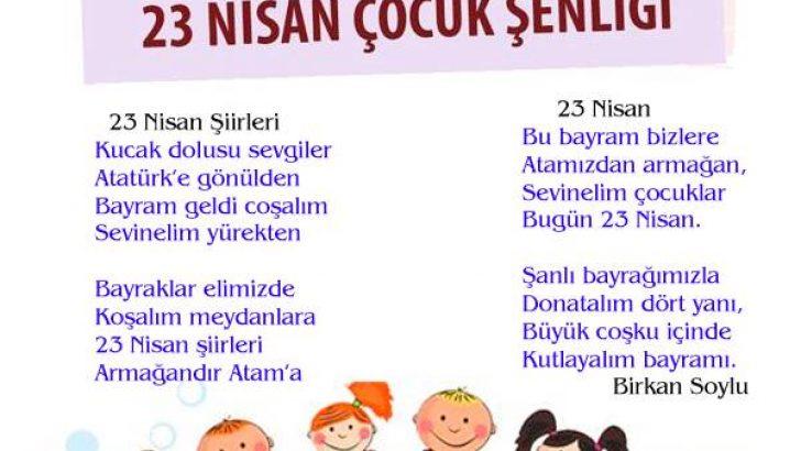 23 Nisan Şiirleri 23 Nisan Çocuk Bayramı Resimli Şiirler 8 - 23 Nisan Ulusal Egemenlik Ve Çocuk Bayramı İle İlgili Resimli Şiirler, resimli-sozler, ozel-gunler-sozleri, guzel-sozler