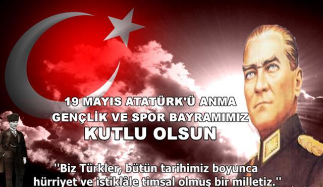 19 Mayıs İle İlgili Resimli Sözler Kutlama Mesajları 19 Mayıs Atatürkü Anma Gençlik Ve Spor Bayramı 14 - 19 Mayıs İle İlgili Resimli Sözler, Kutlama Mesajları - 19 Mayıs Sözleri, resimli-sozler, guzel-sozler