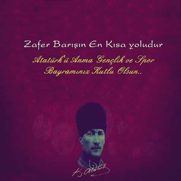 19 Mayıs İle İlgili Resimli Sözler Kutlama Mesajları 19 Mayıs Atatürkü Anma Gençlik Ve Spor Bayramı 16 - 19 Mayıs İle İlgili Resimli Sözler, Kutlama Mesajları - 19 Mayıs Sözleri, resimli-sozler, guzel-sozler