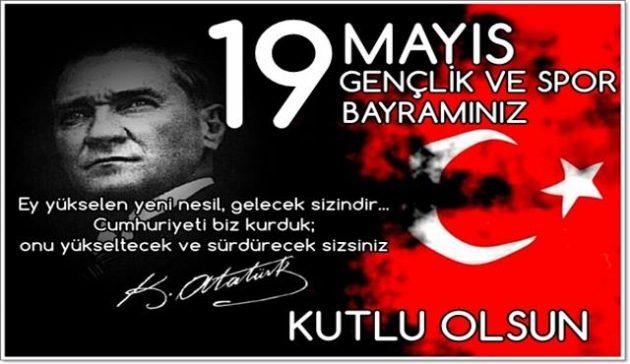 19 Mayıs İle İlgili Resimli Sözler Kutlama Mesajları 19 Mayıs Atatürkü Anma Gençlik Ve Spor Bayramı 2 - 19 Mayıs İle İlgili Resimli Sözler, Kutlama Mesajları - 19 Mayıs Sözleri, resimli-sozler, guzel-sozler