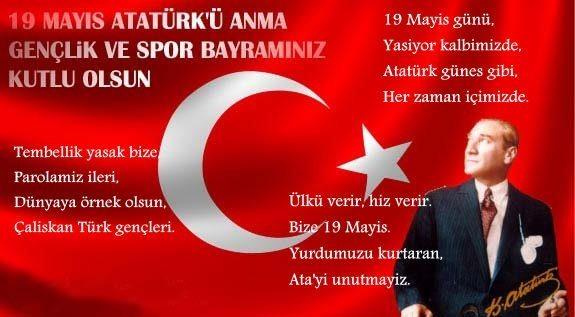 19 Mayıs İle İlgili Resimli Sözler Kutlama Mesajları 19 Mayıs Atatürkü Anma Gençlik Ve Spor Bayramı 39 - 19 Mayıs İle İlgili Resimli Sözler, Kutlama Mesajları - 19 Mayıs Sözleri, resimli-sozler, guzel-sozler