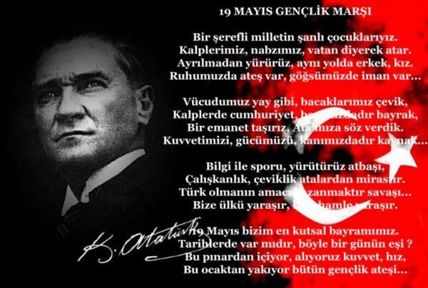 19 Mayıs İle İlgili Resimli Sözler Kutlama Mesajları 19 Mayıs Atatürkü Anma Gençlik Ve Spor Bayramı 4 - 19 Mayıs İle İlgili Resimli Sözler, Kutlama Mesajları - 19 Mayıs Sözleri, resimli-sozler, guzel-sozler