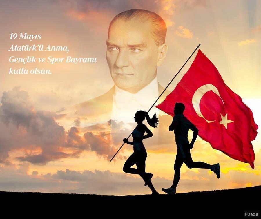 19 Mayıs İle İlgili Resimli Sözler Kutlama Mesajları 19 Mayıs Atatürkü Anma Gençlik Ve Spor Bayramı 50 - 19 Mayıs İle İlgili Resimli Sözler, Kutlama Mesajları - 19 Mayıs Sözleri, resimli-sozler, guzel-sozler