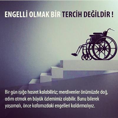 Engelliler İle İlgili Resimli Sözler Engelliler Haftası 4 - 10-16 Mayıs Dünya Engelliler Haftası - Engelliler İle İlgili Resimli Sözler, resimli-sozler, mesajlar, anlamli-sozler