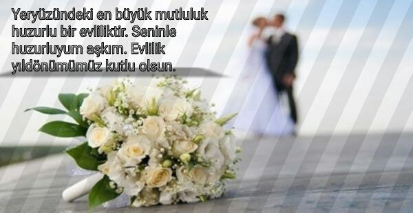 Evlilik Yıldönümü Mesajları 100lerce Yeni Evlilik Yıldönümü Mesajları 11 - Resimli Evlilik Yıldönümü Mesajları - Duygusal Evlilik Yıldönümü Mesajları, resimli-sozler