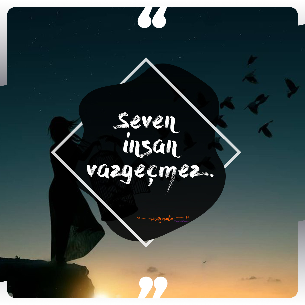 Seven insan vazgeçmez - Resimli Anlamlı Sözler - Etkileyici, Anlamlı Kısa Sözler, resimli-sozler