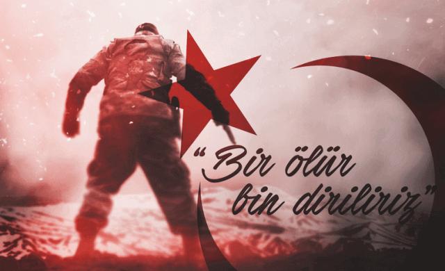 Bir ölür bin diriliriz. Türk Ordusu İle İlgili Resimli Sözler - Türk Ordusu İle İlgili Resimli Sözler - Türk Ordusu İle İlgili Sözler, resimli-sozler