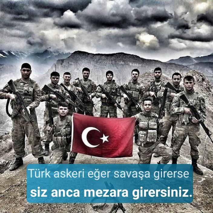 Türk askeri eğer savaşa girerse siz anca mezara girersiniz. Türk Ordusu İle İlgili Resimli Sözler - Türk Ordusu İle İlgili Resimli Sözler - Türk Ordusu İle İlgili Sözler, resimli-sozler