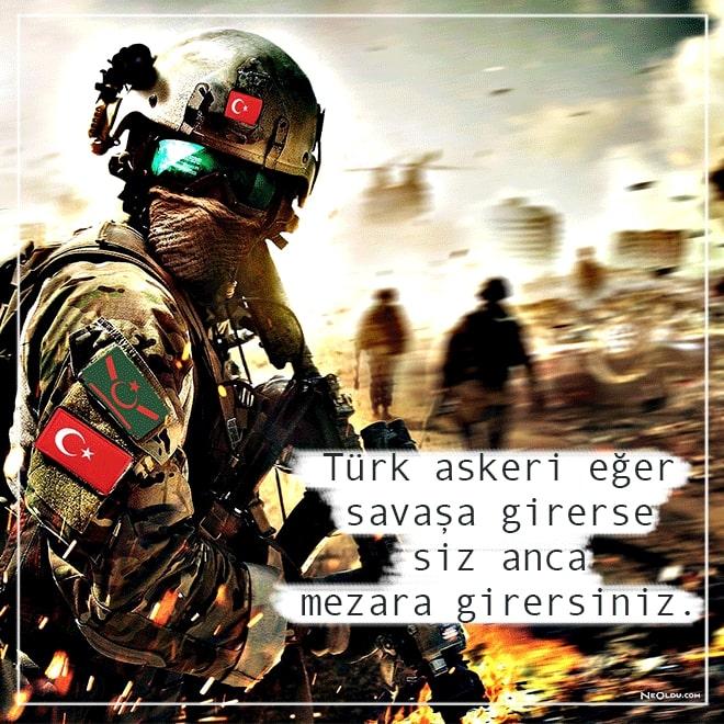 Türk askeri eğer savaşa girerse siz anca mezara girersiniz.. Türk Ordusu İle İlgili Resimli Sözler - Türk Ordusu İle İlgili Resimli Sözler - Türk Ordusu İle İlgili Sözler, resimli-sozler